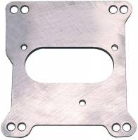 """Recently Added Products - Trans-Dapt Performance - Trans-Dapt Performance 1/4"""" Thick Throttle Body Adapter Gasket/Hardware Steel TBI Center Mount to Square Bore Intake - Small Block Chevy"""