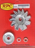 "Alternators and Components - Alternator Fan - Racing Power - Racing Power V-Belt Alternator Pulley/Fan 1 Groove 2-5/8"" Diameter 5/8"" Shaft - Steel"