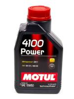 Recently Added Products - Motul - Motul 4100 Power Motor Oil 15W50 Synthetic 1 L - Each