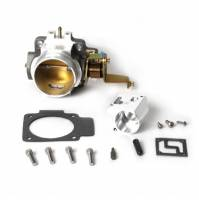 Fuel Injection Systems and Components - Electronic - Throttle Bodies - BBK Performance - BBK Performance Power Plus Throttle Body Stock Flange 62 mm Single Blade Aluminum - Natural