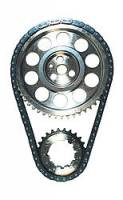 "JP Performance - JP Performance Double Roller Timing Chain Set Keyway Adjustable 0.005"" Shorter Billet Steel - Pontiac V8"