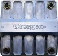Engine Components - Oberg Filters - Oberg 800 Series Fluid Filter - 60 Micron Stainless Element - 16 AN Female O-Ring Inlet/Outlet - Aluminum