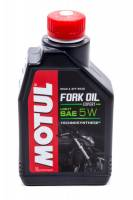 Shock Parts & Accessories - Shock Oil - Motul - Motul Fork Oil Expert Light Shock Oil 5W Semi-Synthetic 1 L - Each