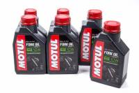 Shock Parts & Accessories - Shock Oil - Motul - Motul Fork Oil Expert Medium Shock Oil 10W Semi-Synthetic 1 L - Set of 12