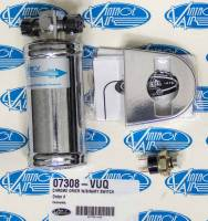 """Air Conditioning & Heating - Air Conditioning Driers - Vintage Air - Vintage Air Vertical Mount Air Conditioning Drier 2-1/2"""" OD 6"""" Tall Binary Switch - Bracket"""