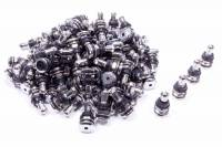 Valve Stems and Components - Valve Stems - Gorilla Automotive Products - Gorilla Automotive Outer-Mount Valve Stem Bolt-On Steel Chrome - Set of 100