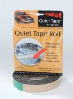 """Hushmat - Hushmat Quite Tape Sound Barrier Tape 1"""" Wide 20 ft Roll Self Adhesive Backing - Foam"""