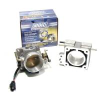 Fuel Injection Systems and Components - Electronic - Throttle Bodies - BBK Performance - BBK Performance Power Plus Throttle Body Stock Flange 70 mm Single Blade Aluminum - Natural