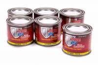 POR-15 - Por-15 Rust Preventive Paint Urethane Black 4 oz Can - Set of 6