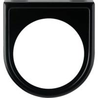 "Gauges and Data Acquisition - VDO - VDO One 2-1/16"" Hole Gauge Mounting Panel Steel Black Paint Universal - Each"