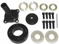 "Recently Added Products - Moroso Performance Products - Moroso Performance Products 3-1/2"" Long Mandrel Crank Mandrel Drive Kit Guides/Hardware/Spacers Aluminum Black Anodize - Big Block Ford"