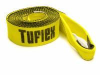"Tuflex - Tuflex 3"" Wide Tow Strap 20 ft Long 22,500 lb Capacity Nylon - Yellow"