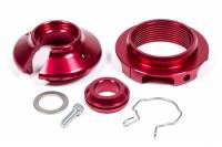 "Recently Added Products - Pro Shocks - Pro Shocks 2.500"" ID Spring Coil-Over Kit Tapered Spring Seats Aluminum Red Anodize - ACF Series Shocks"