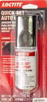 Sealers, Gasket Makers and Adhesives - Epoxy - Loctite - Loctite Quick Set 2 Part Epoxy 0.85 oz Syringe