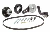 Fuel Pump Components and Rebuild Kits - Fuel Pump Belt Drive Pulleys - Enderle - ENDERLE Belt/Brackets/Drive Pulleys/Hardware Fuel Pump Belt Drive Steel Black Paint SB Chevy - Kit