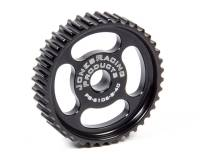 Power Steering Pulleys - HTD Power Steering Pulleys - Jones Racing Products - Jones Racing Products HTD Power Steering Pulley 40-Tooth Press-On Aluminum - Black Anodize