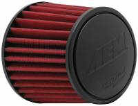 "AEM Induction Systems - AEM Induction Systems Dryflow Air Filter Element Clamp-On Conical 6"" Base - 5-1/8"" Top Diameter"