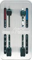 "Dash Accessories - Climate Control Panels - Vintage Air - Vintage Air Gen II Climate Control Panel 4 Lever Vertical 4-3/4 x 2-1/2"" Rectangle -"" Dash - Aluminum"