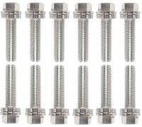 "Hardware and Fasteners - Proform Parts - Proform Performance Parts Locking Header Bolt 8 mm x 1.25 Thread 0.984"" Long Hex Head - Steel"