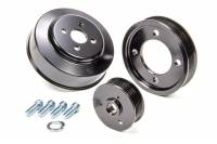 Recently Added Products - March Performance - March Performance Performance Pulley Kit 6 Rib Serpentine Aluminum/Steel Black Powder coat - Small Block Ford