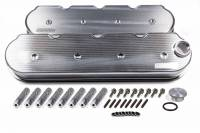 "Recently Added Products - Moroso Performance Products - Moroso Performance Products 2-1/2"" Height Valve Covers Billet Rail Fabricated Aluminum Natural - GM LS-Series"
