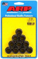 "Engine Hardware and Fasteners - Replacement Nuts - ARP - ARP 1/2-20"" Thread Nut 11/16"" 12 Point Head Chromoly Black Oxide - Universal"