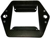 Gauge Mounting Solutions - Tachometer Mounting Brackets - Triple X Race Components - Triple X Race Co. Carbon Fiber Tachometer Plate Sprint Car - Tel Tac