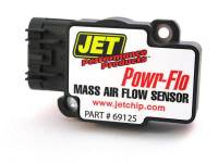 Jet Performance Products Plastic Housing Mass Air Meter Black Factory Air Box GM LS-Series - Various GM Applications 2006-14