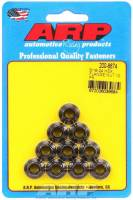 "Nuts - Nuts (Spin Lock) - ARP - ARP Locking Nut 5/16-24"" Thread 3/8"" Hex Head Serrated Flange - Chromoly"