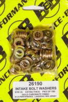 "Hardware and Fasteners - Stef's Fabrication Specialties - Stef's 19/32"" OD Flat Washer 5/16"" ID 0.100"" Thick Steel - Chromate"