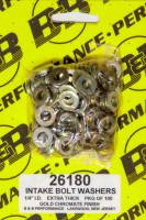"Hardware and Fasteners - Stef's Fabrication Specialties - Stef's 9/16"" OD Flat Washer 1/4"" ID 0.100"" Thick Steel - Chromate"
