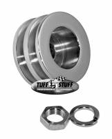 Engine Components - Pulleys & Belts - Tuff Stuff Performance - Tuff Stuff Performance Dual V-Belt Alternator Pulley Hardware Included Steel Chrome - Universal