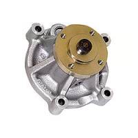 Stewart Components - Stewart Components Mechanical Water Pump Short Design Aluminum Natural - Ford Modular