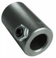 """Steering Components - Borgeson - Borgeson 3/4-30"""" Spline to 3/4"""" Smooth Steering Shaft Coupler Steel Natural Universal - Each"""