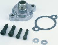 "Oil Filters Adapters & Mounts - Oil Filter Bypass Eliminators - Perma-Cool - Perma-Cool Bypass Eliminator Oil Filter Adapter Bolt-On 13/16-16"" Center Thread Hardware/Gaskets - Aluminum"