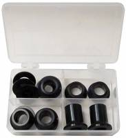 """Suspension Components - King Racing Products - King Racing Products 1/2"""" Shock Spacer Kit Aluminum - Black Anodize"""