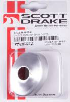 Drake Automotive Group - DRAKE AUTOMOTIVE GROUP Adhesive Backing Antenna Base Cover Aluminum Satin Ford Mustang 2005-09 - Each