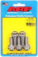 Bulk Fasteners - NEW - Bolts - NEW - ARP - ARP 10 mm x 1.50 Thread Bolt 25 mm Long 12 mm 12 Point Head Stainless - Natural