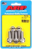 Bulk Fasteners - NEW - Bolts - NEW - ARP - ARP 10 mm x 1.50 Thread Bolt 25 mm Long 12 mm Hex Head Stainless - Natural