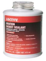 Loctite - Loctite Aviation Gasket Sealant Sealant Silicone - 16.00 oz Brush Top Bottle