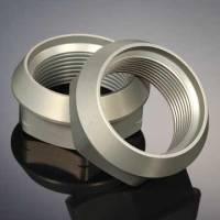 Driveline & Rear End - Axle Nuts - DMI - DMI Left Hand Thread Rear Axle Nut Aluminum Black Anodize Sprint Rear Axles - Each