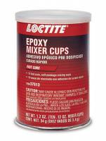 Sealers, Gasket Makers and Adhesives - Epoxy - Loctite - Loctite General Purpose 2 Part Epoxy 0.12 oz Mixer Cups - Set of 10