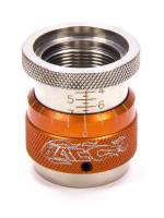 "Tools & Pit Equipment - PAC Racing Springs - PAC Racing Springs 1.400-1.900"" Range Valve Spring Height Gauge 1.200"" ID 0.050"" Per Turn Orange Anodize - Each"