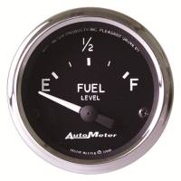 Recently Added Products - Auto Meter - Auto Meter Cobra Fuel Level Gauge 16-158 ohm Electric Analog - Short Sweep