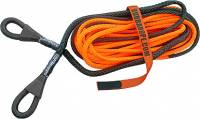 "Bubba Rope - Bubba Rope Winch Line Tow Rope 3/8"" Diameter 50 ft Long 17,000 lb Capacity - Gator Jaw/Soft Shackle Included"