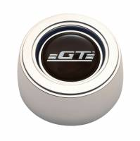 GT Performance - GT Performance GT3 Hi-Rise Horn Button GT Logo Billet Aluminum Polished - 3 Bolt Steering Wheels