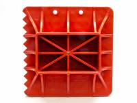 Tools & Pit Equipment - Hi-Lift Jack Company - Hi-Lift Jack Company Off-Road Base Jack Base Plastic Red Hi-Lift Jacks - Each