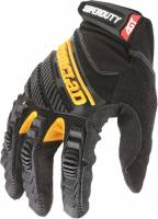 Tools & Pit Equipment - Tools - Clearance - Ironclad Performance Wear - Ironclad Shop Gloves Super Duty Velcro Closure Synthetic Leather - Black/Yellow