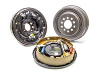 "Brake Systems - Drum Brake Kits - Nine Plus - 9+ - Nine Plus - 9+ Rear Brake System 11"" Plain Drum Backing Plate/Hardware/Shoes Included Iron - Natural"
