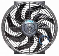 "Cooling & Heating - Perma-Cool - Perma-Cool Standard Electric Cooling Fan 14"" Fan Puller 1850 CFM - Curved Blade"